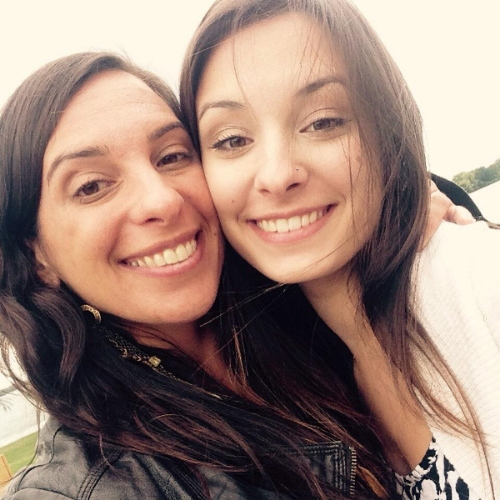 Laura and her daughter, Kaya. From Laura's  Instagram