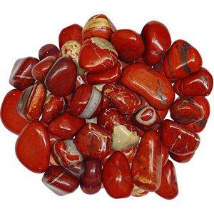 Red Jasper Tumble Stone  Red Jasper Crystal  Red Jasper Tumbled Stone  Tumbled Red Jasper  Red Jasper Worry Stone Jasper Tumbles