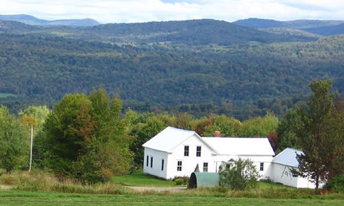Classic Vermont Farmhouse           Wells Place Road   Craftsbury VT 05826