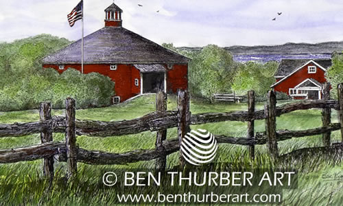 Ben Thurber Art   -  VT Gifts  prints, calendars, mugs, placemats, wrapping paper & stationery   784 S. Craftsbury Road  Craftsbury VT 05826   Phone: (802) 586-9634 Email:  benthurberart @gmail.com