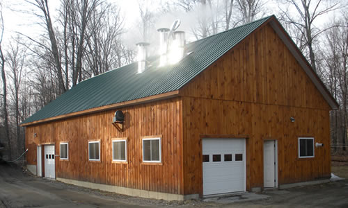 Echo Hill Farm Maple Syrup    Calderwood Family 440 Echo Hill Road Craftsbury VT 05826  Phone: (802) 586-2239  Email:  rcalderwod@aol.com