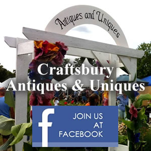 Craftsbury Antiques and Uniques on facebook