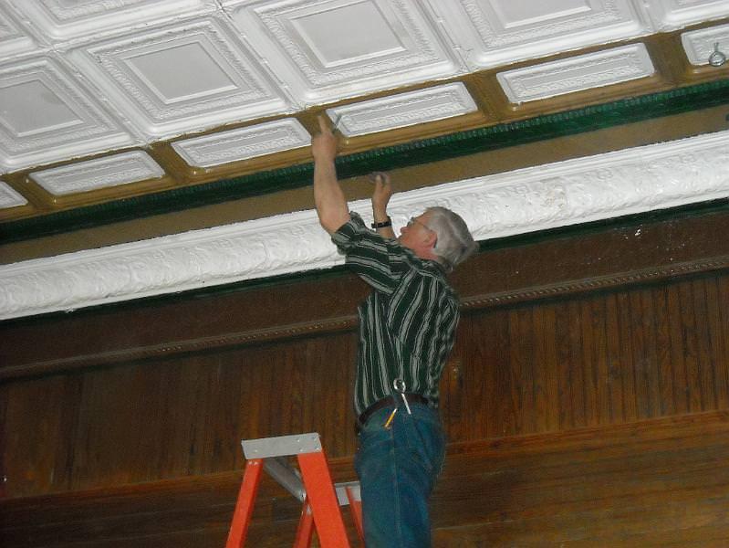 Craftsbury Curtain Restoration in 2009