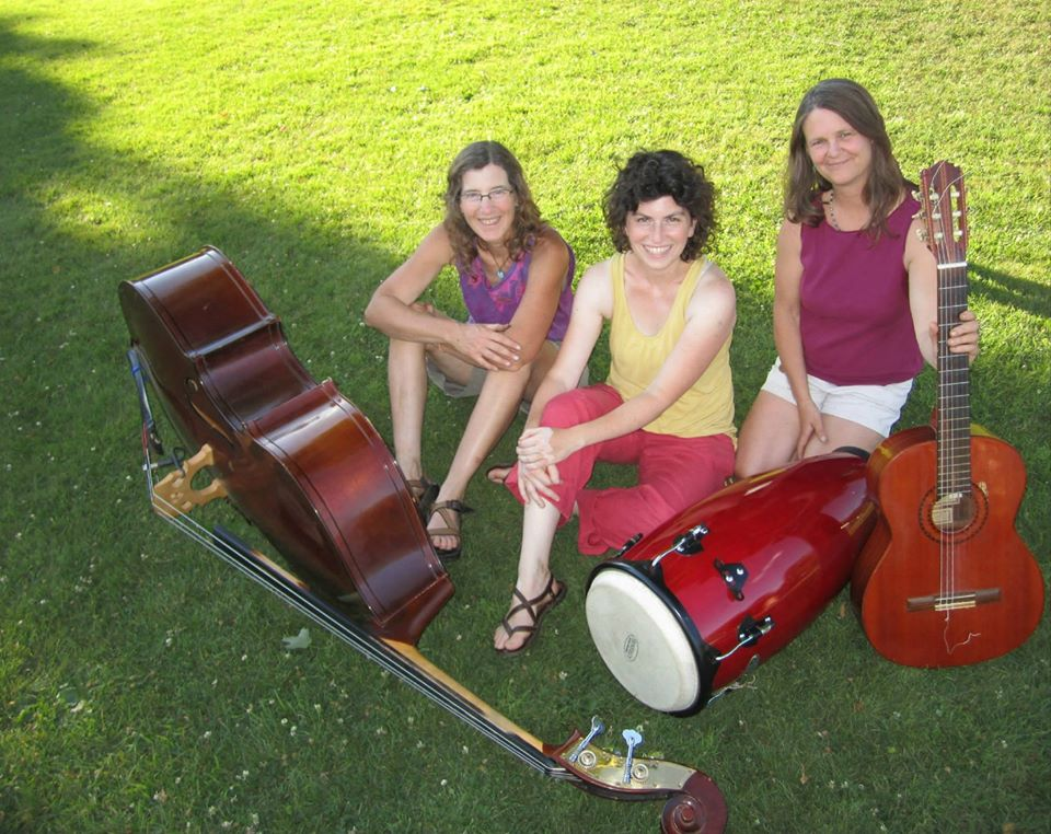 Chickweed is a trio of musicians known for their upbeat folk sound with jazz, blues and Latin influences. They perform mostly original songs with a few popular covers.   Chickweed .    For more information about the band go to  Chickweed's Facebook Page