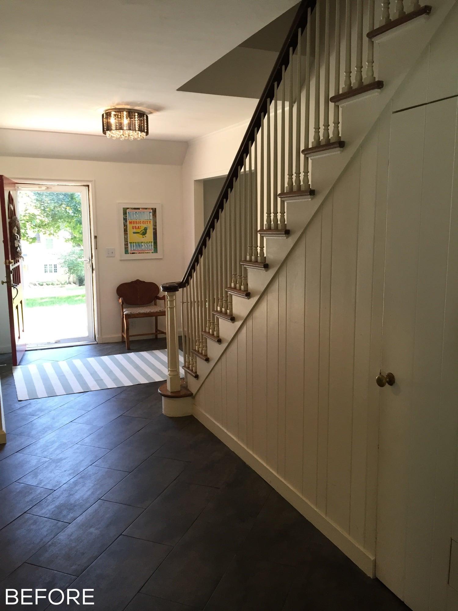 Davies' Foyer Before