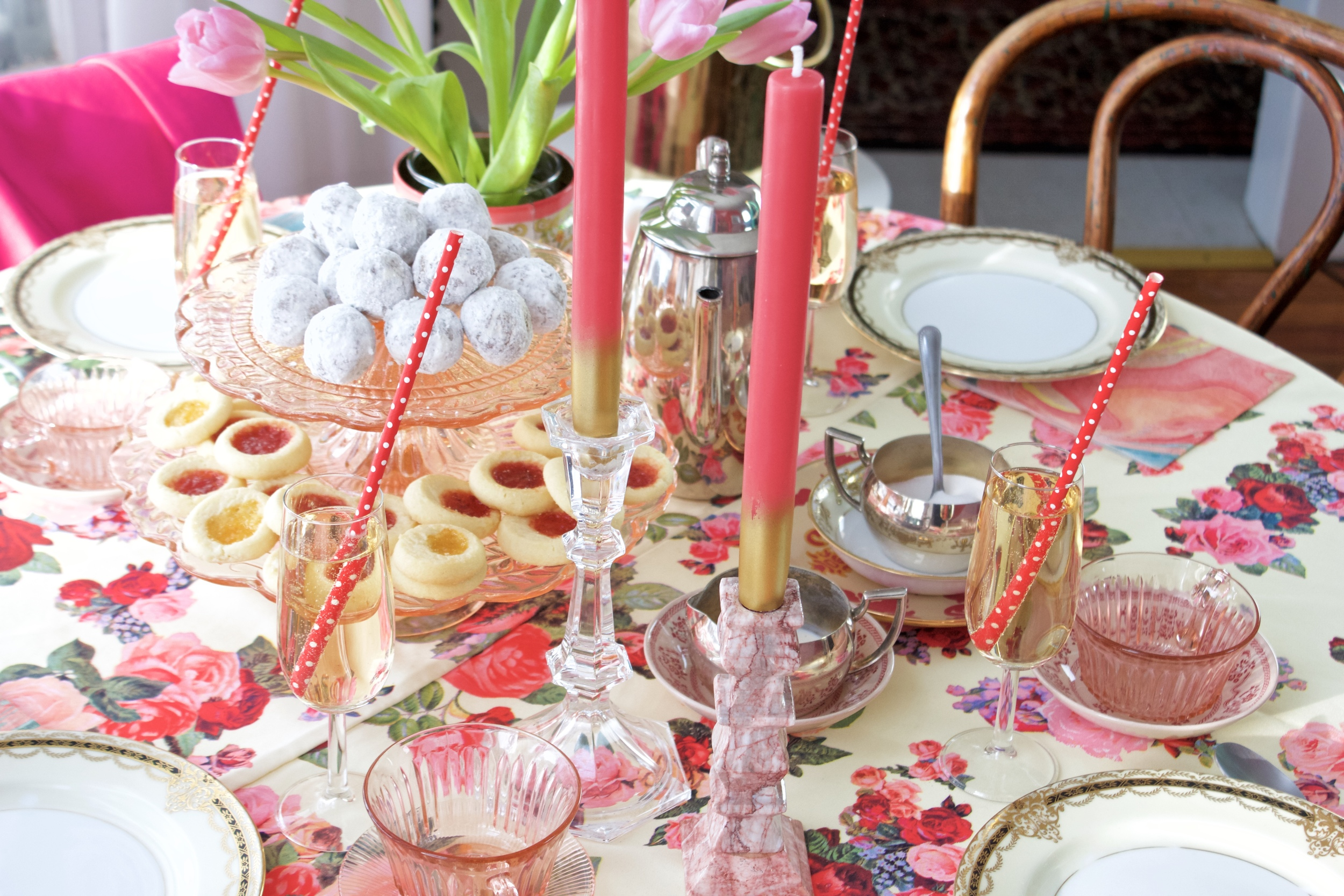 Valentine Tea Party Table