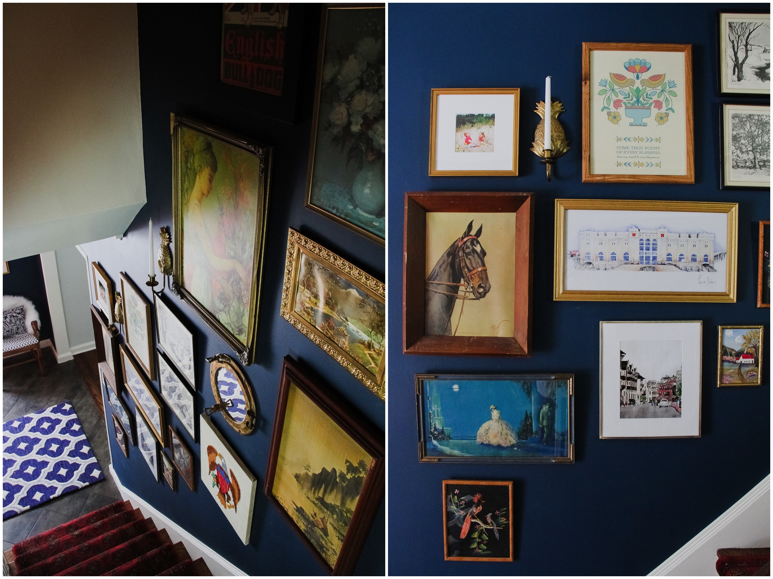 Preppy Gallery Wall