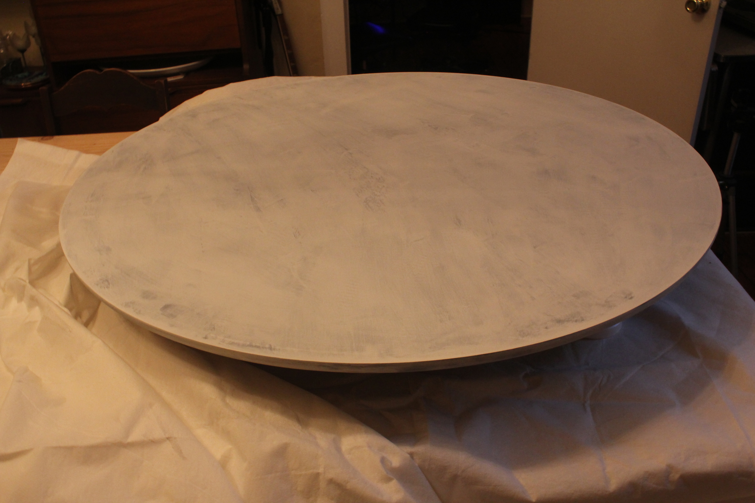 Tulip Table Before (Primer)