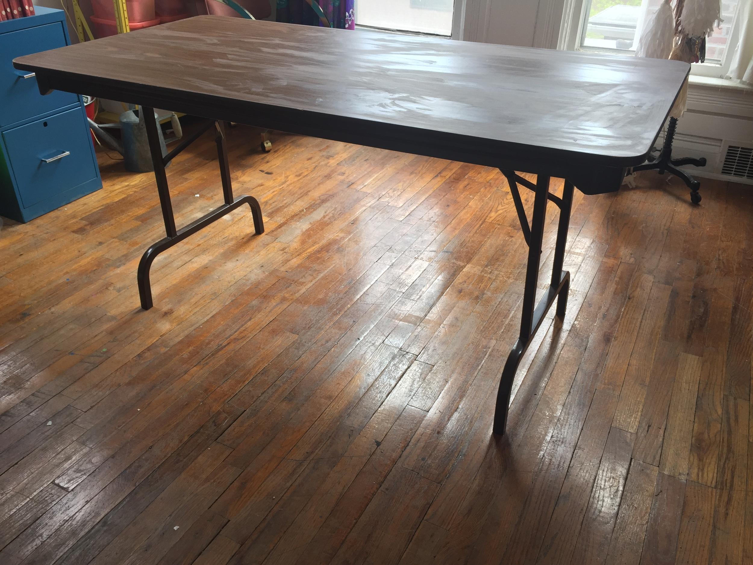 Desk Before