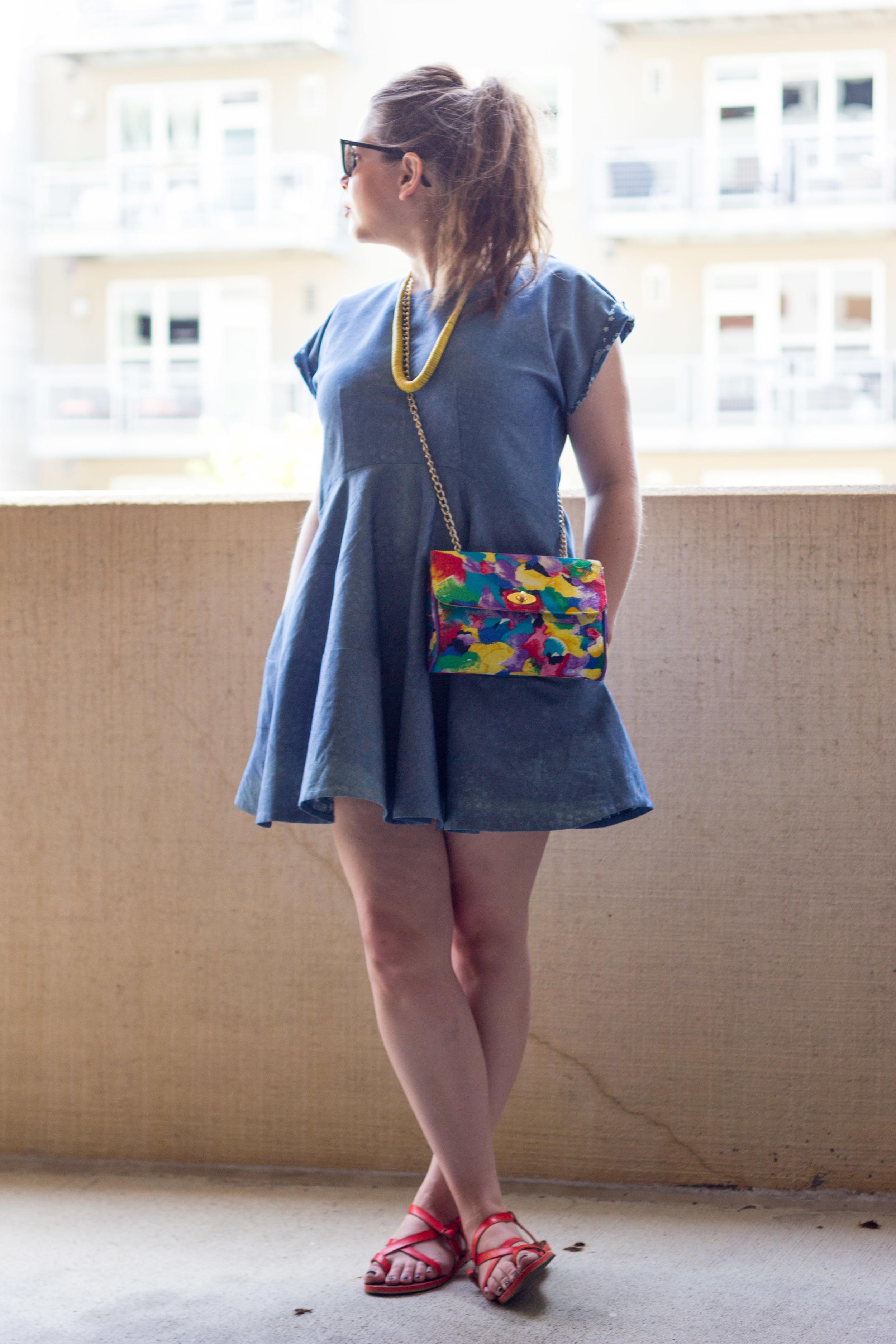 M Pettipoole – Chambray Dress