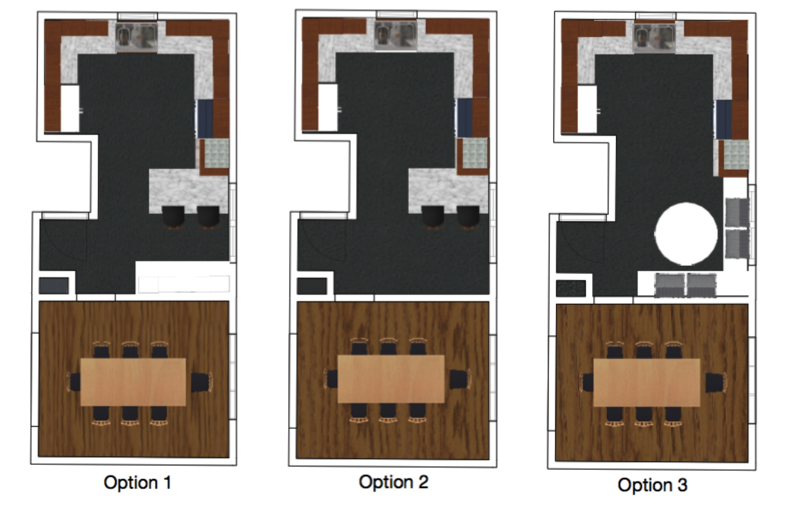 M Pettipoole – Mayberry Rental Kitchen Floor Plan Options