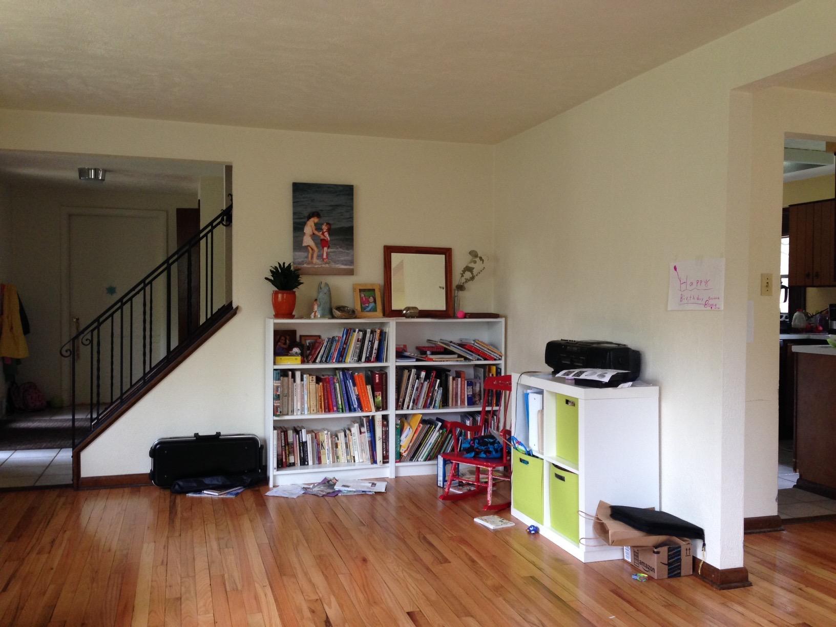 Daria's Living Room Before