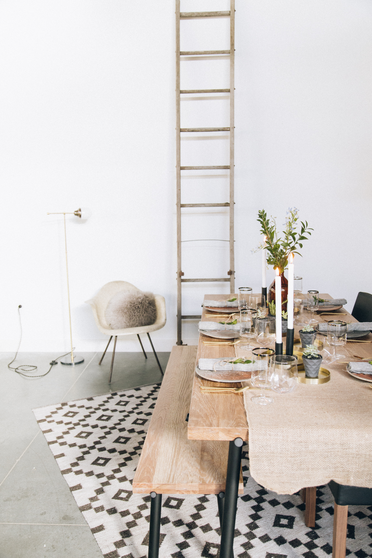 Hutch Rustic Modern Thanksgiving Table Setting