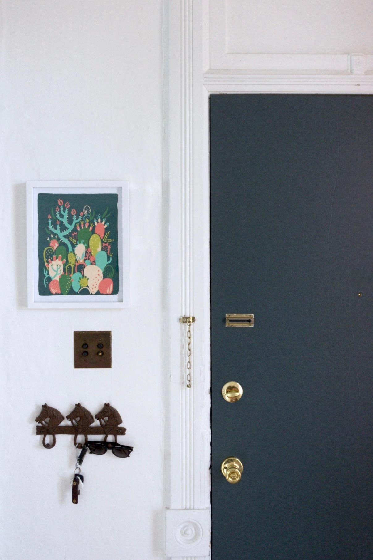 Copy of Forest Green Entryway Front Door, Valspar Oatlands Shutter Green