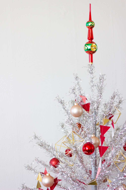 Vintage Aluminum Christmas Tree