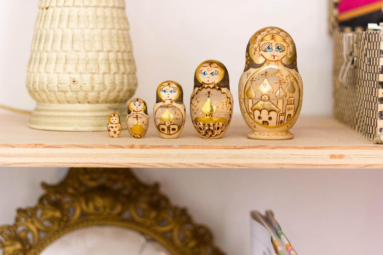 Copy of Vintage Russian nesting dolls