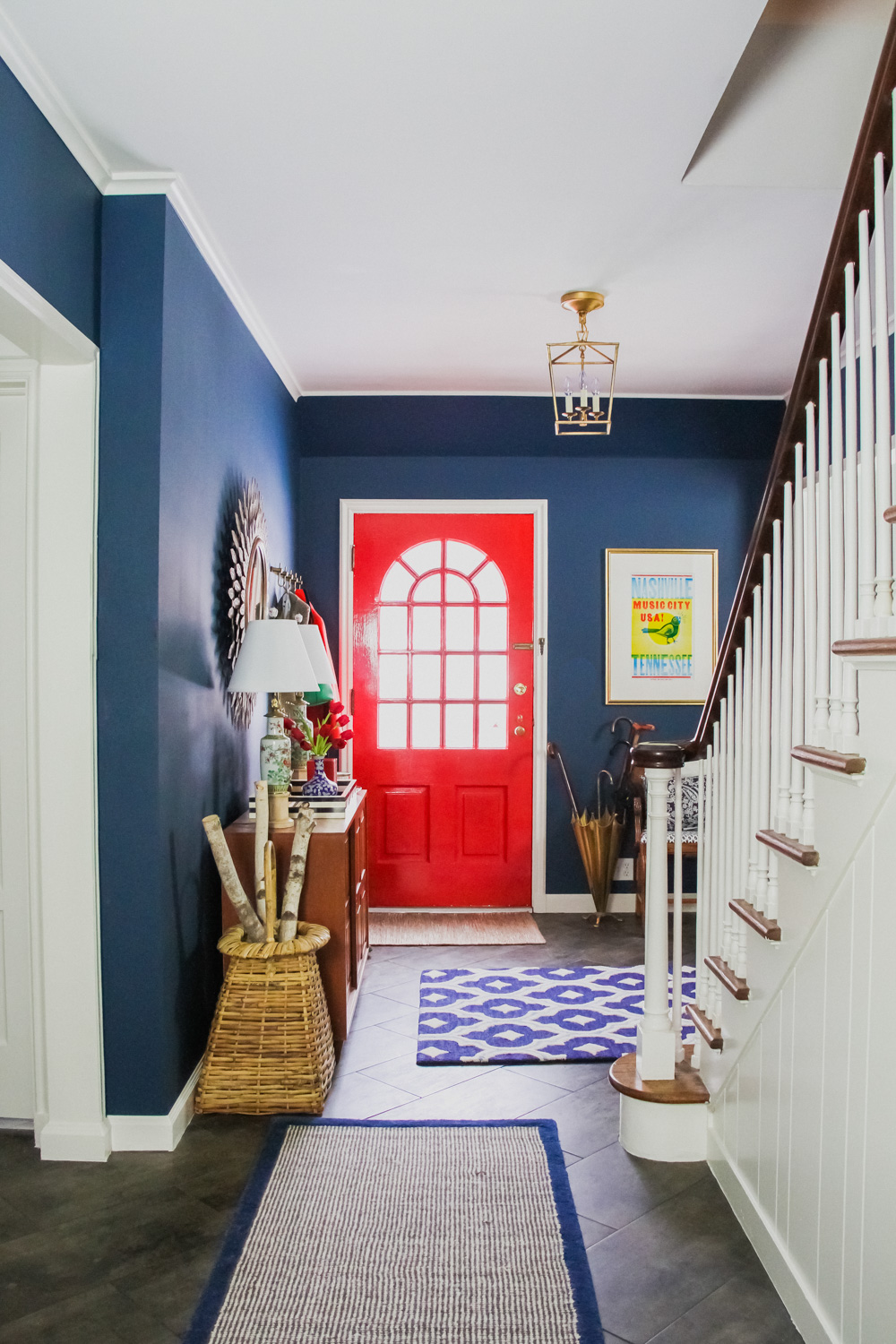 Town & Country Mod Entryway