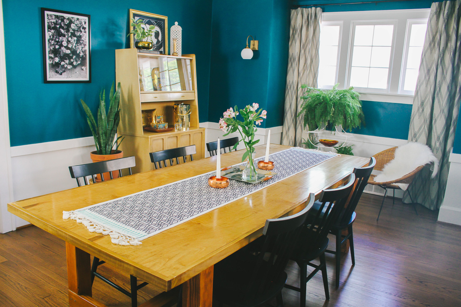 Grown-Up Bohemian Dining Room — M Pettipoole