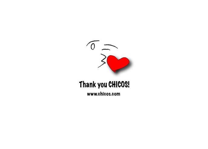 Thank you Chicos! ilustration©gunjanvirk