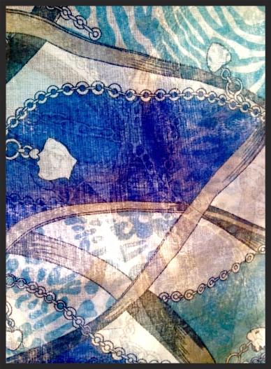My Hallhuber vintage design scarf. Image©gunjanvirk