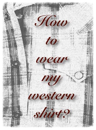 My Western RLL Shirt, illustration and image©gunjanvirk