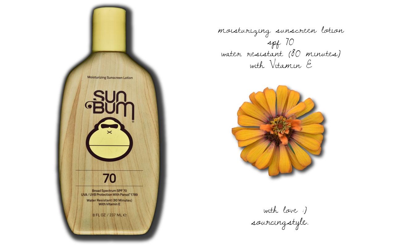 My Sunbum sunsncreen, image©gunjanvirk