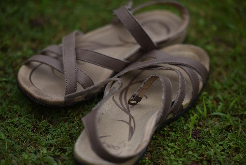 My Abeo sandals are great for walking! Image©gunjanvirk