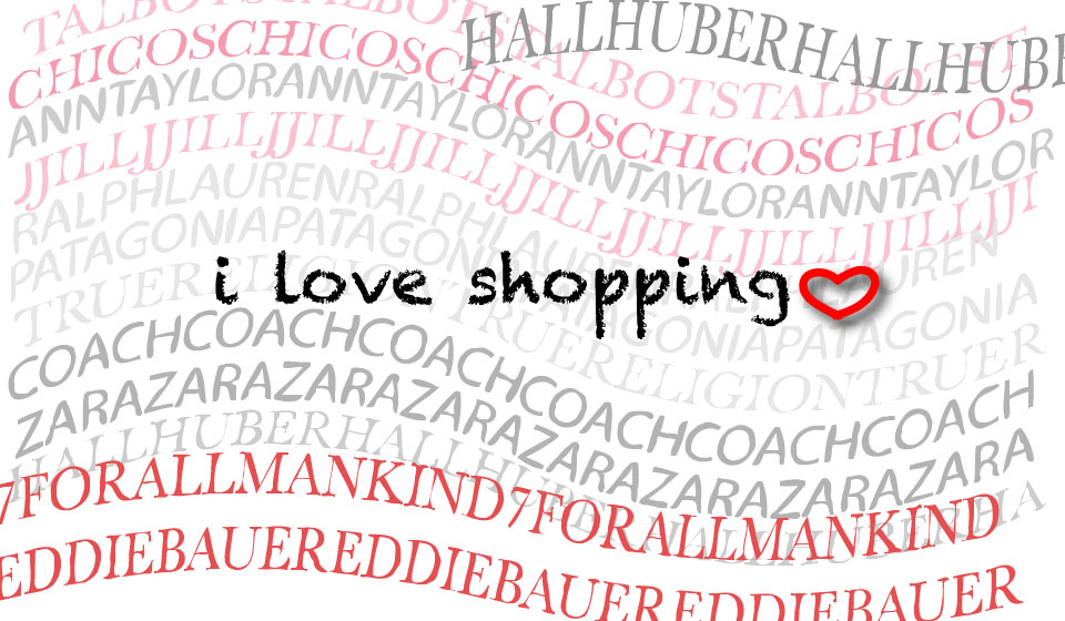 I love shopping. Image©gunjanvirk