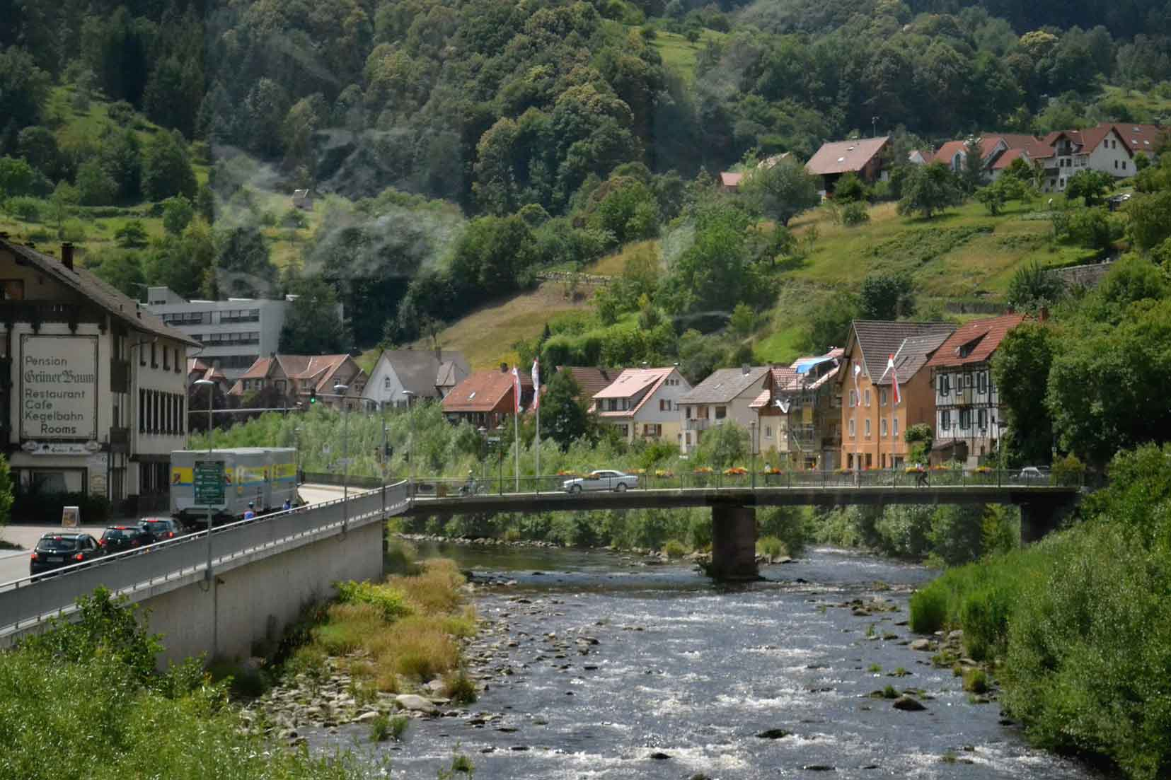 A small village in Black Forest, Germany by train. Image©gunjanvirk