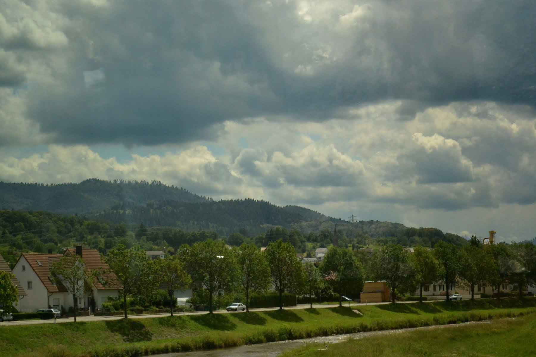 A quaint village in Black Forest, Germany by train. Image©gunjanvirk