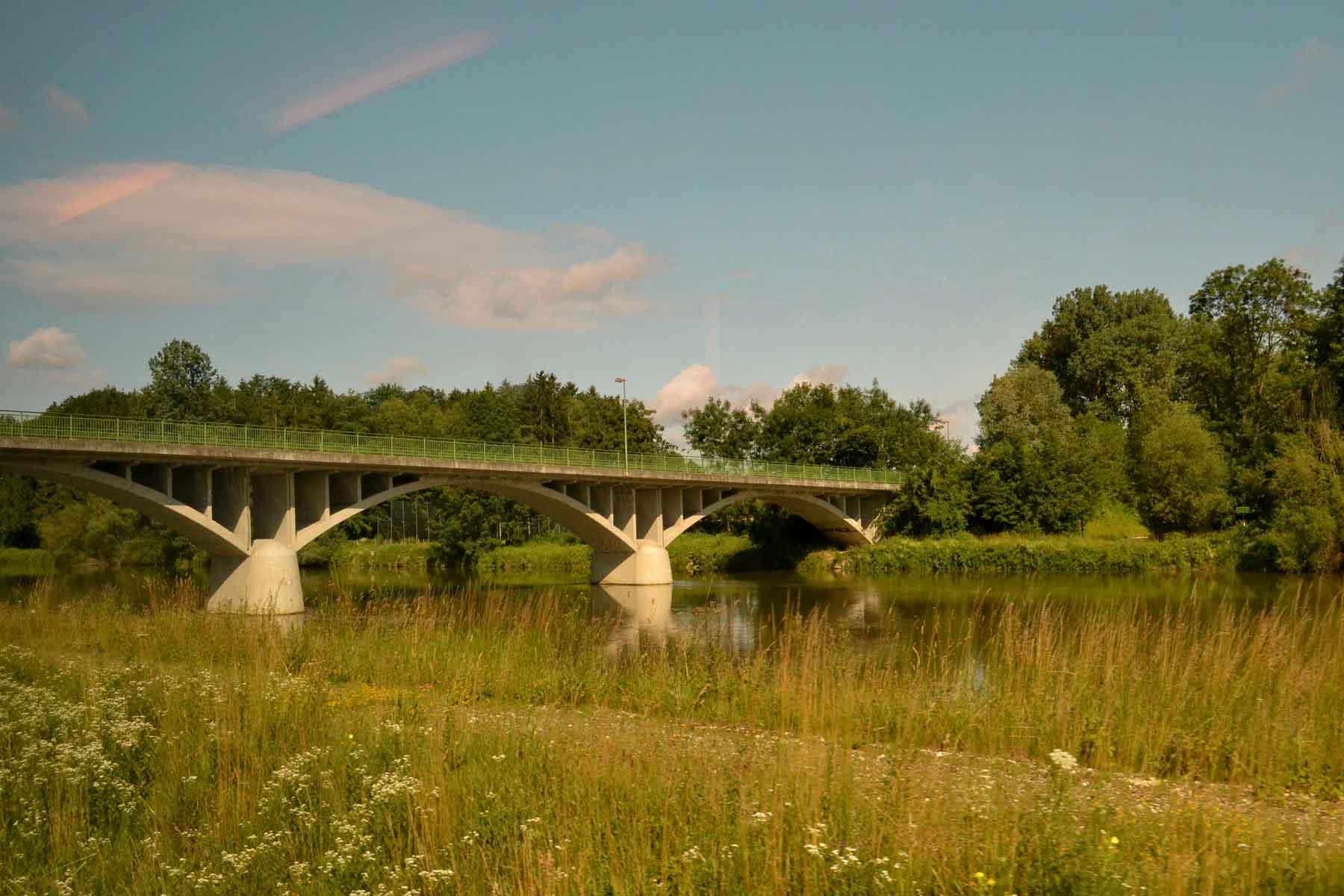 Bridges, Germany by train. Image©gunjanvirk