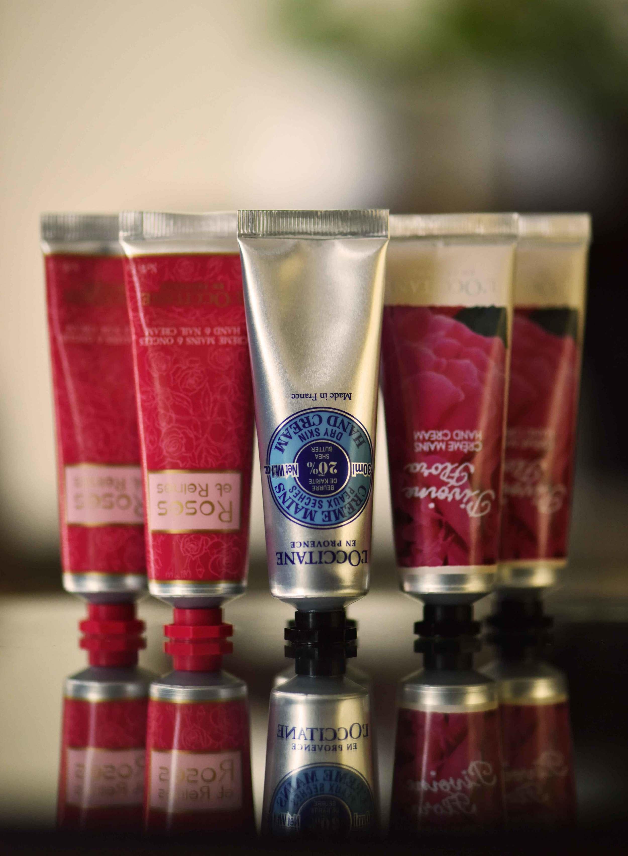 The L'Occitane hand cream set, image©gunjanvirk