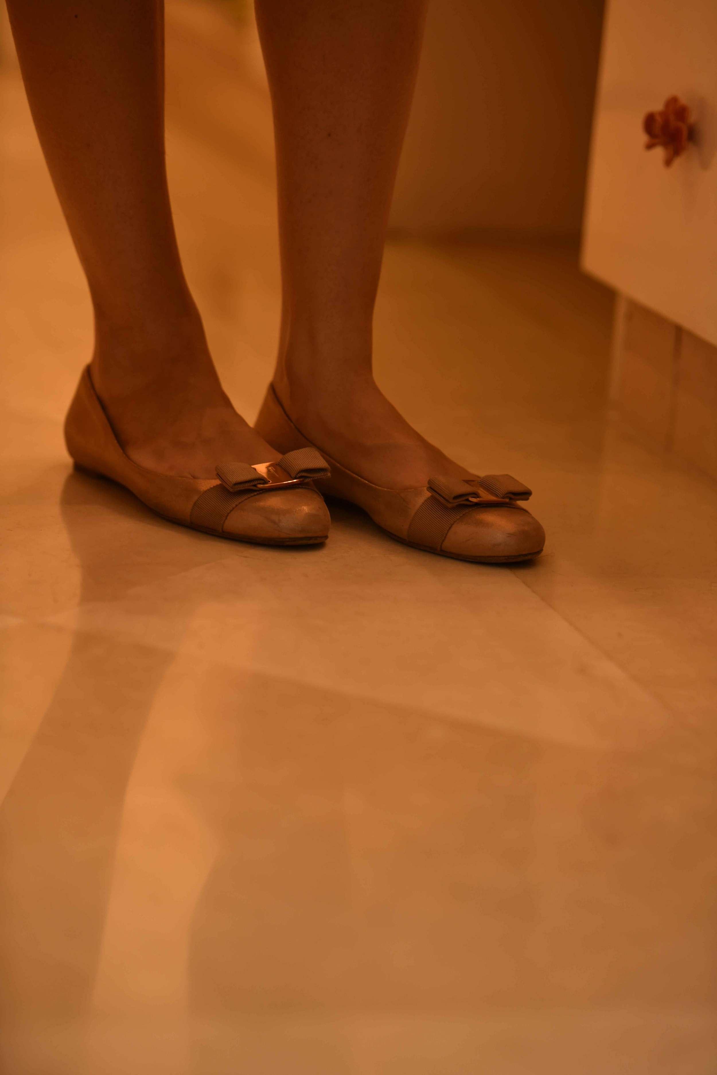 Ferragamo ballet flats. Image©gunjanvirk