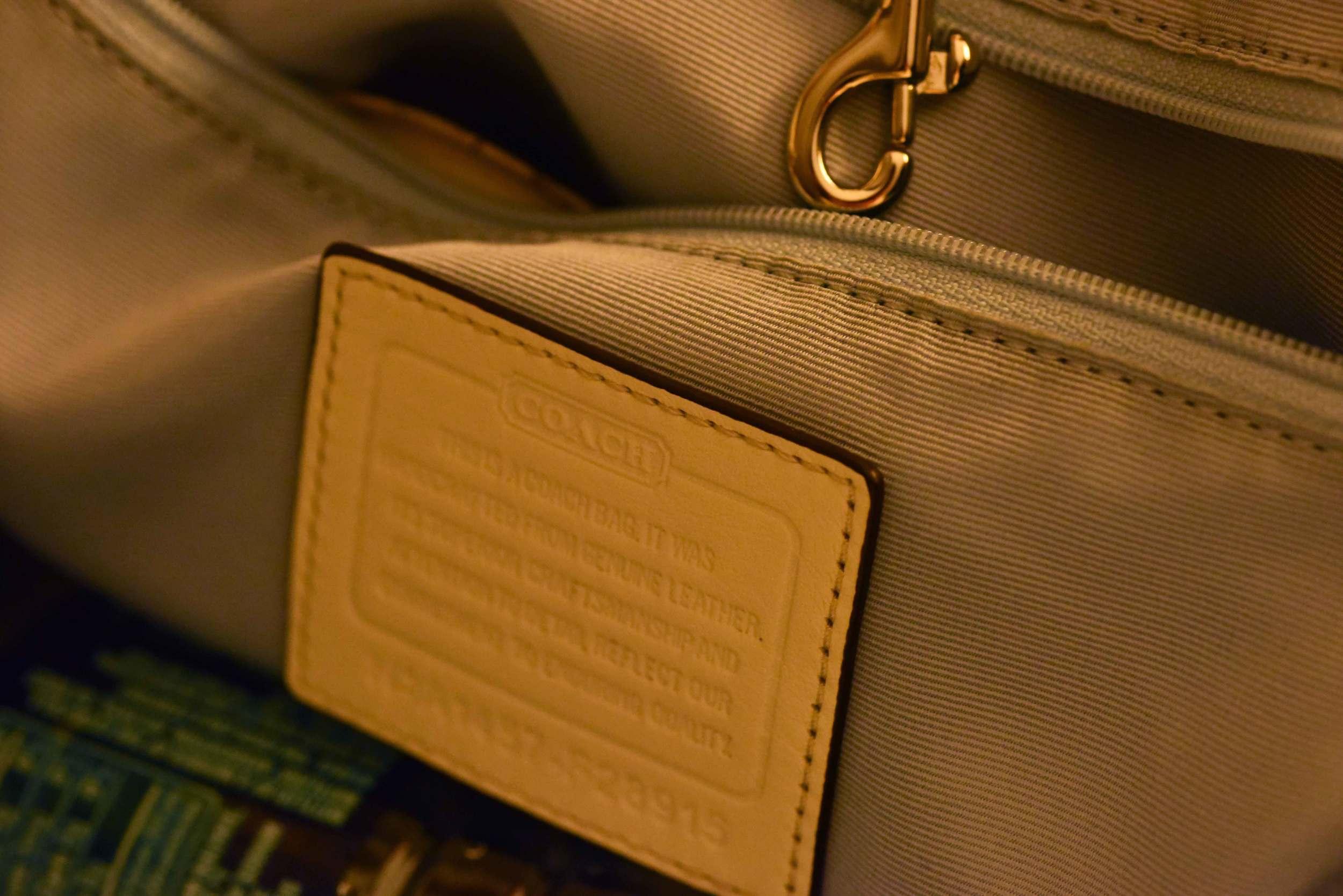 Great quality Coach bag! image©gunjanvirk