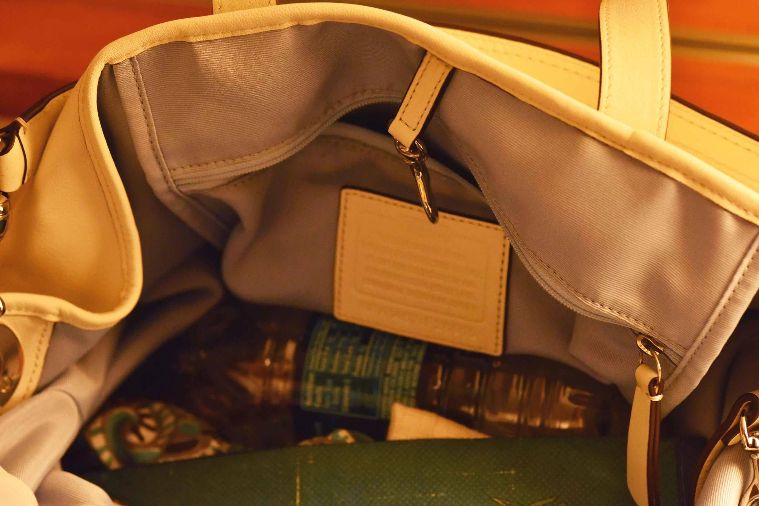 Spacious Coach bag! Image©gunjanvirk