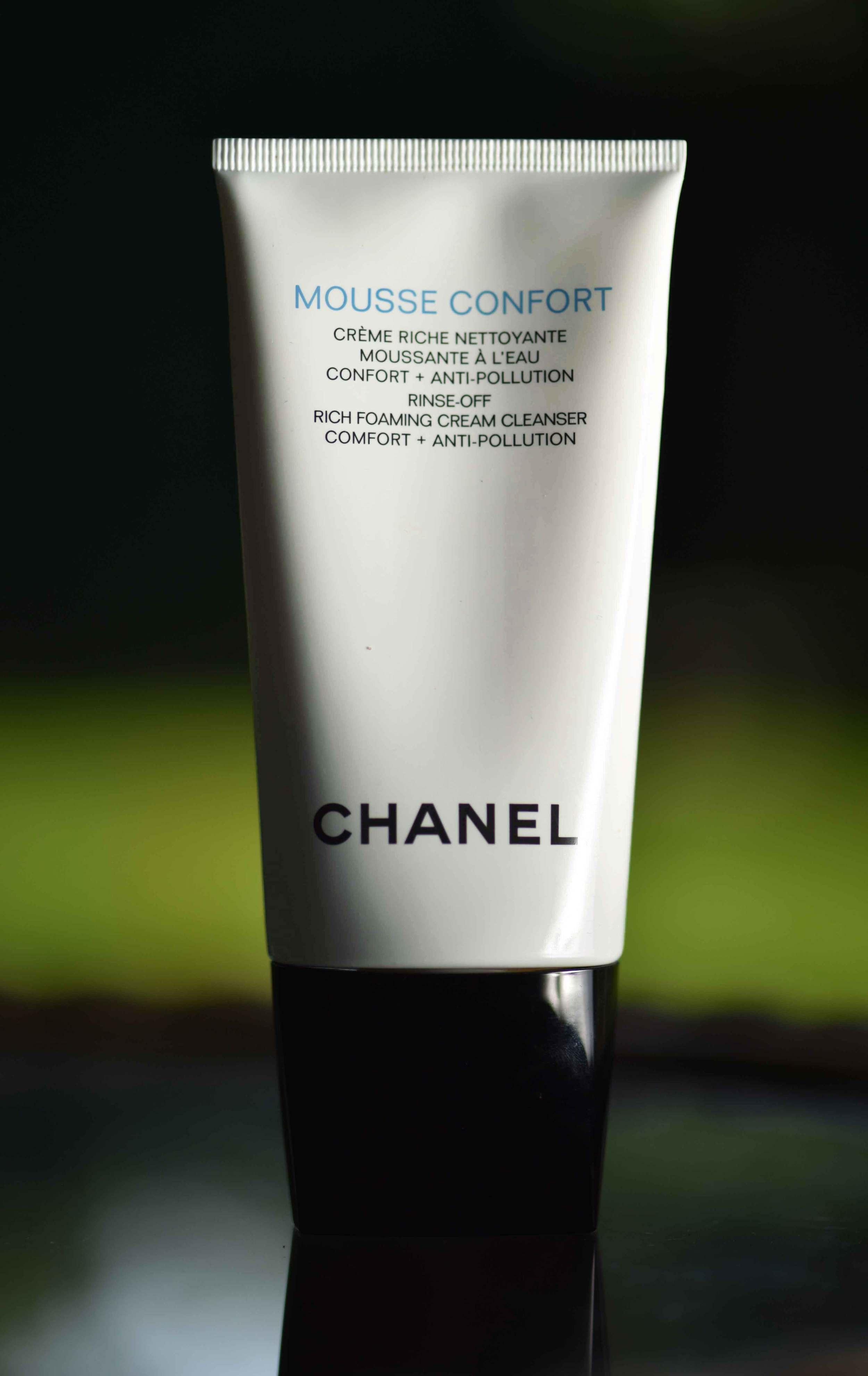 The Chanel foaming cleanser.Image©gunjanvirk