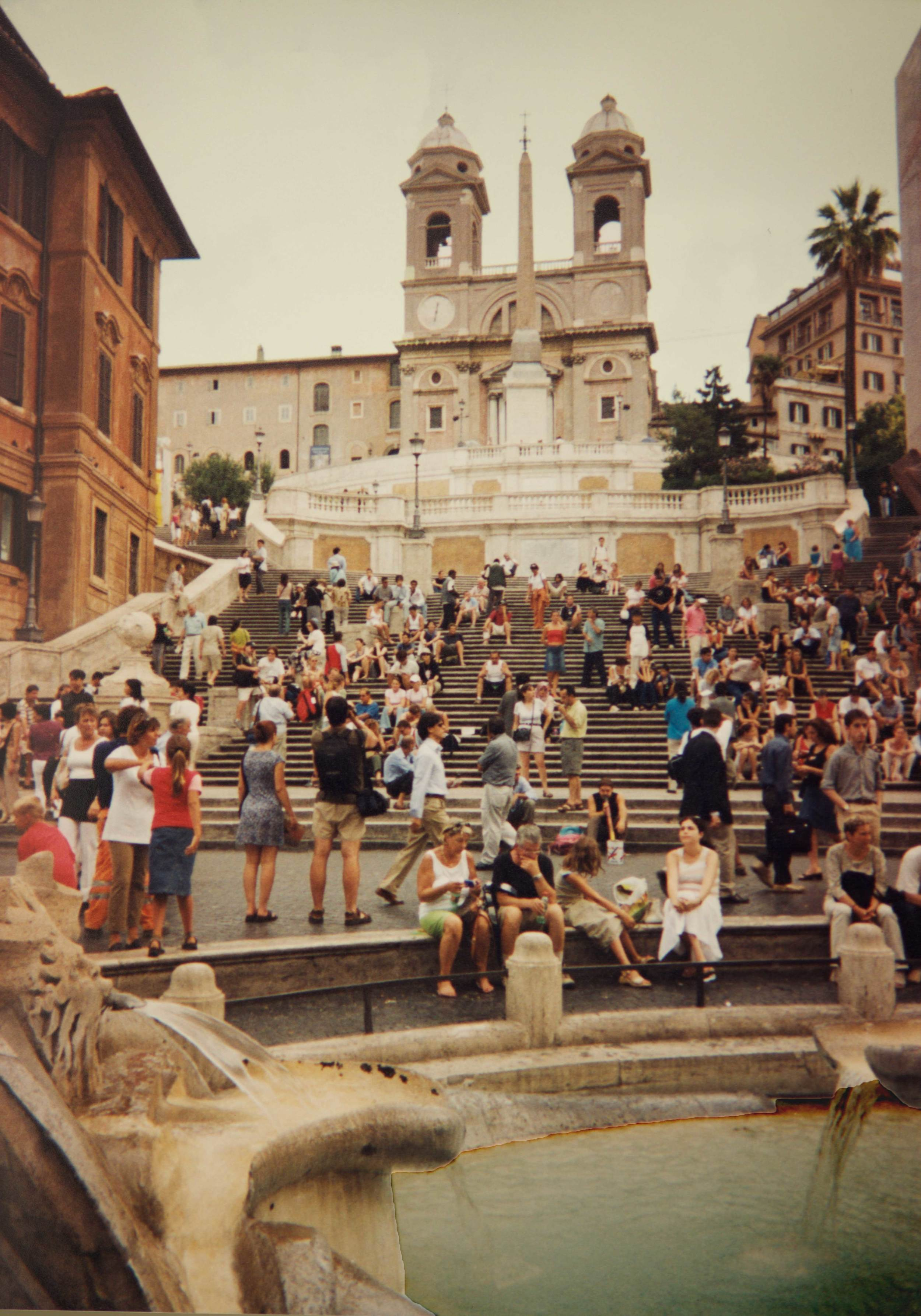The Spanish Steps, Rome, Italy. Image©sourcingstyle.com