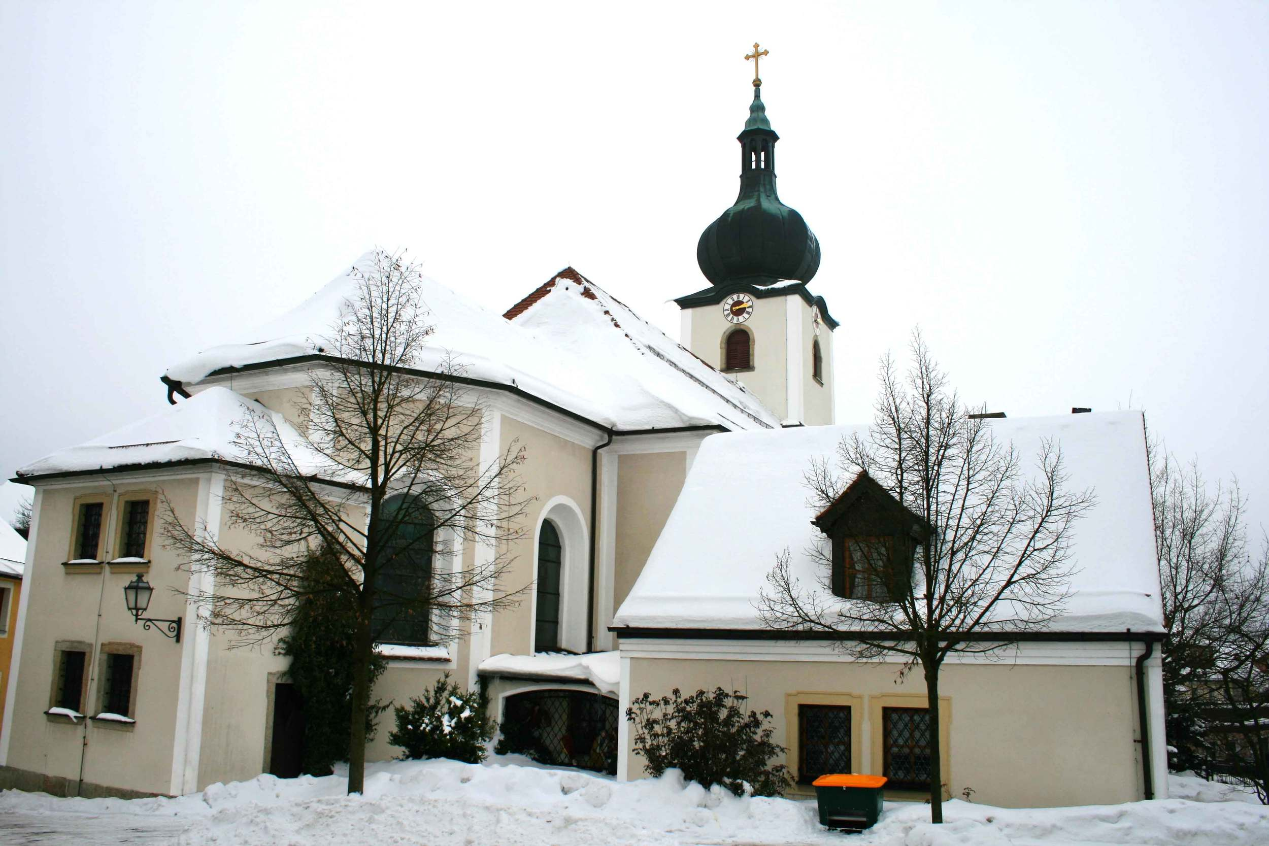Image©sourcingstyle.com, the church in Konnersreuth where Saint Therese Neumann used to pray, Bavaria, Germany.