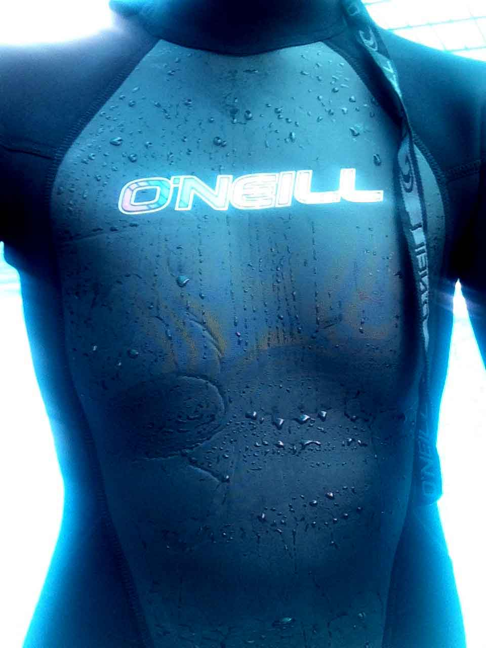 My O'Neill wetsuit. Image©gunjanvirk
