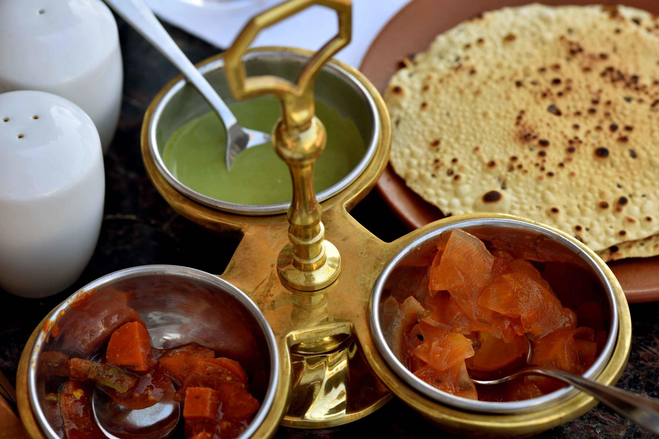 Indian cuisine, Park Hyatt Hotel, Goa, image©sourcingstyle.com.