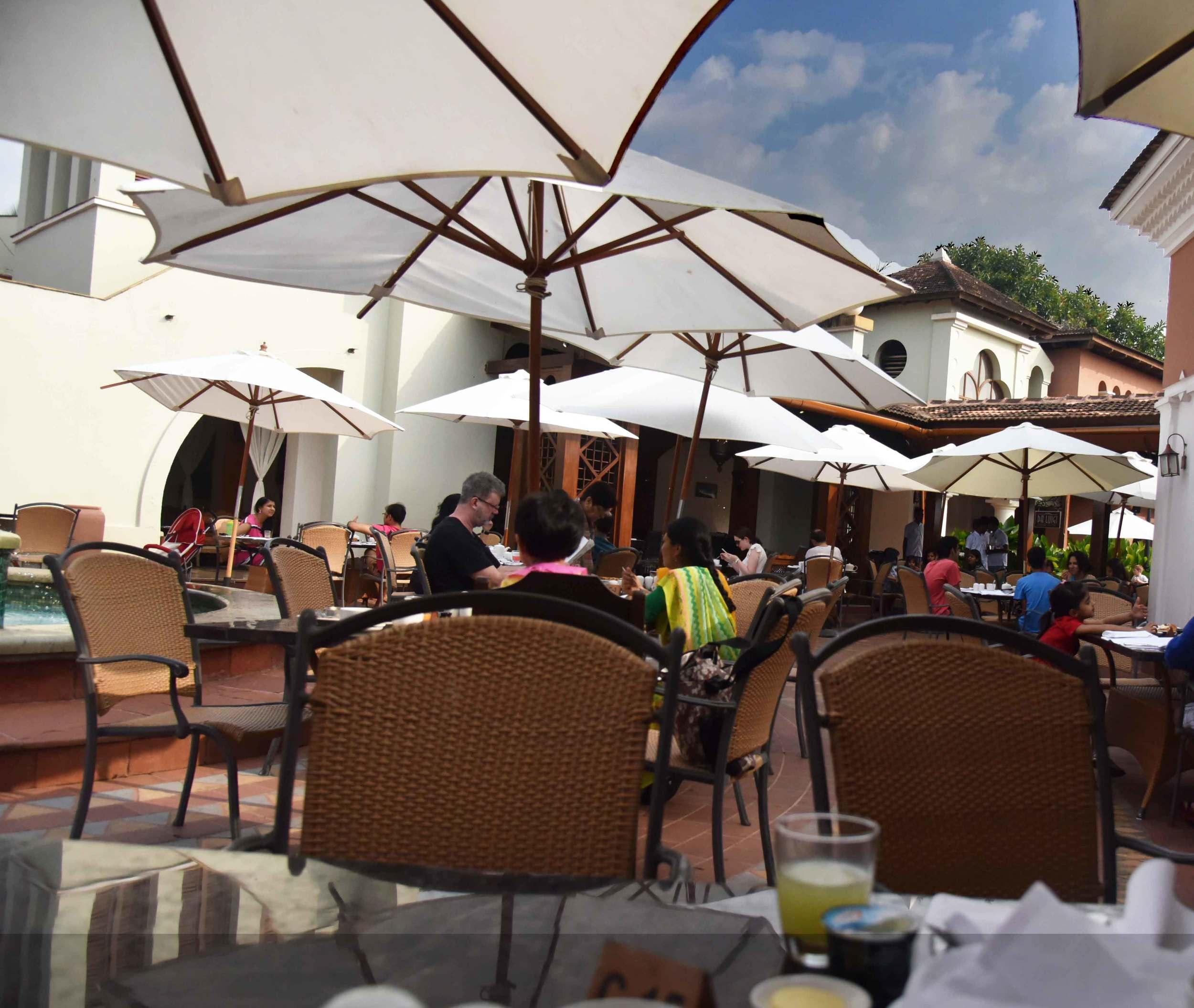 Breakfast was never so fun! Park Hyatt Hotel, Goa, image©sourcingstyle.com.