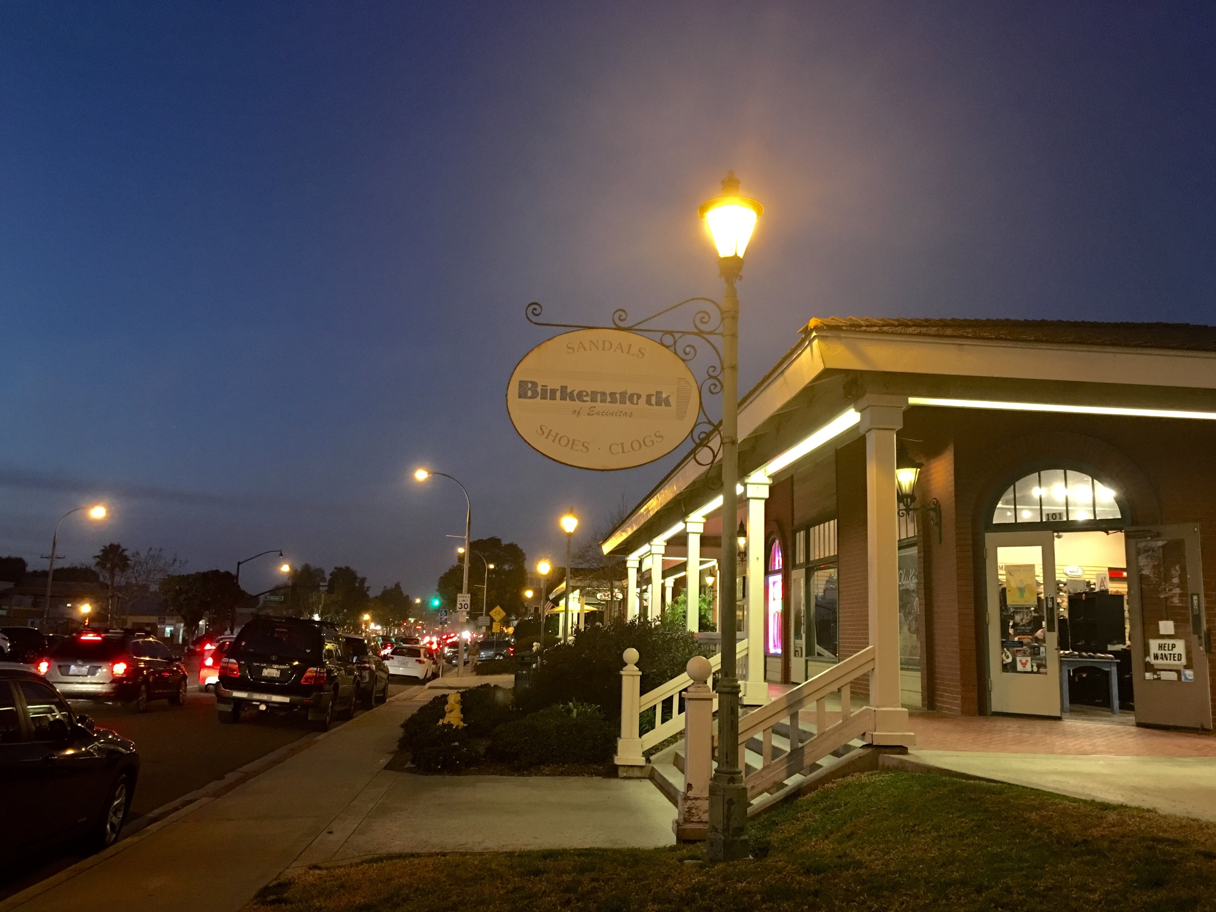 Birkenstock, Encinitas–one of my best shoe brands! I should not enter as I have shopped too much! Image©sourcingstyle.com