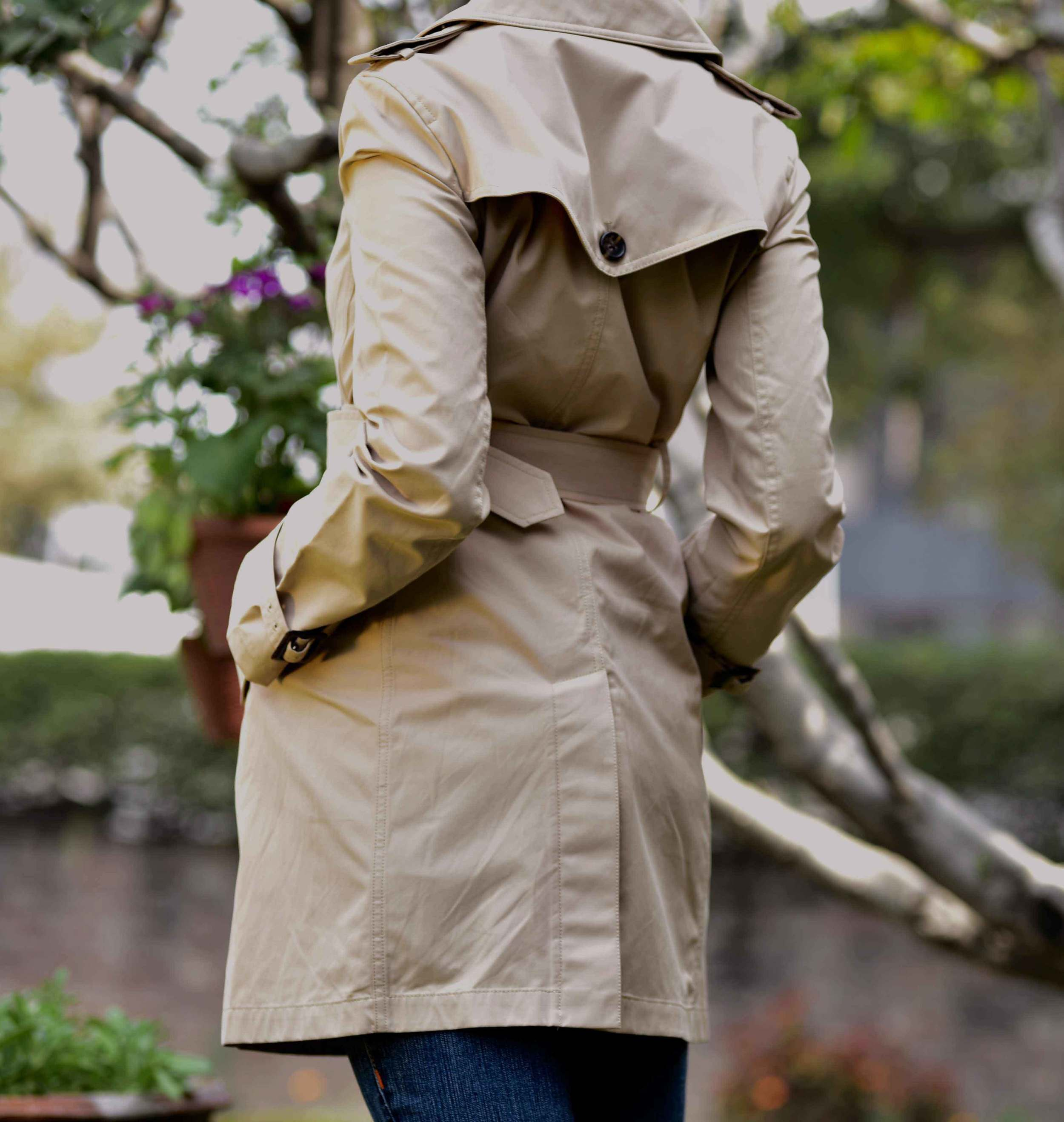 My Talbots Trench is perfect for spring! Image©gunjanvirk