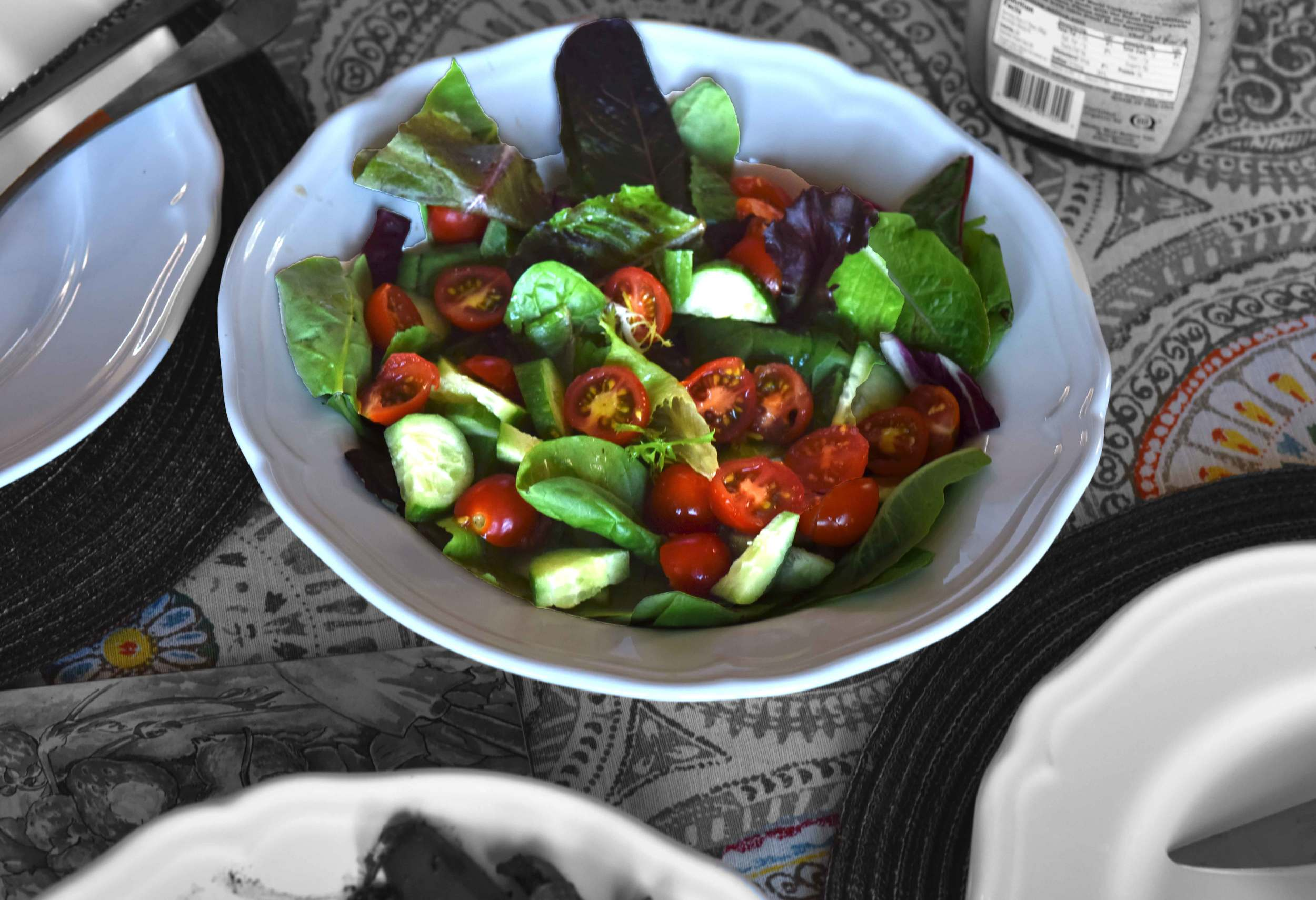 Salads for lunch, image©gunjanvirk