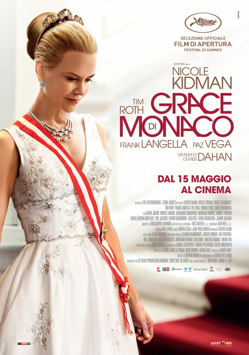 Italian poster for Grace of Monaco