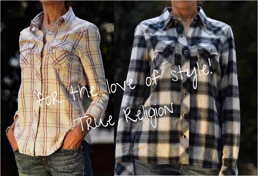 My True Religion shirts from Citadel Outlets, image©gunjanvirk