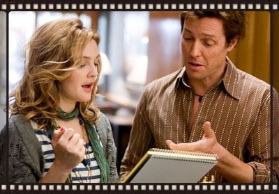 Drew Barrymore and Hugh Grant in Music And Lyrics