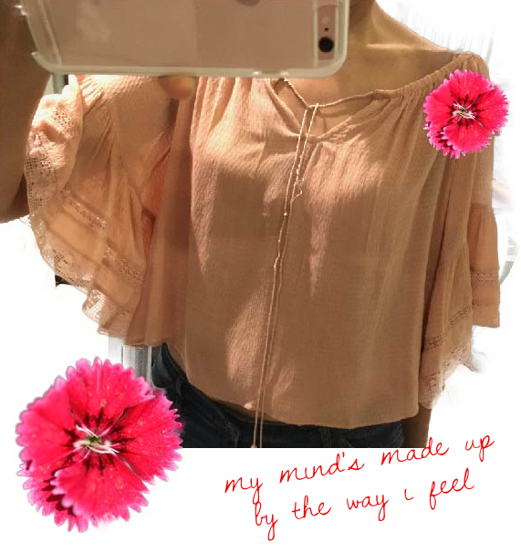 Zara blouse with gathered neckline, image©gunjanvirk