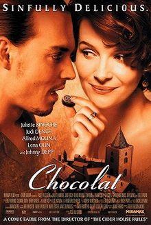 Chocolat movie poster