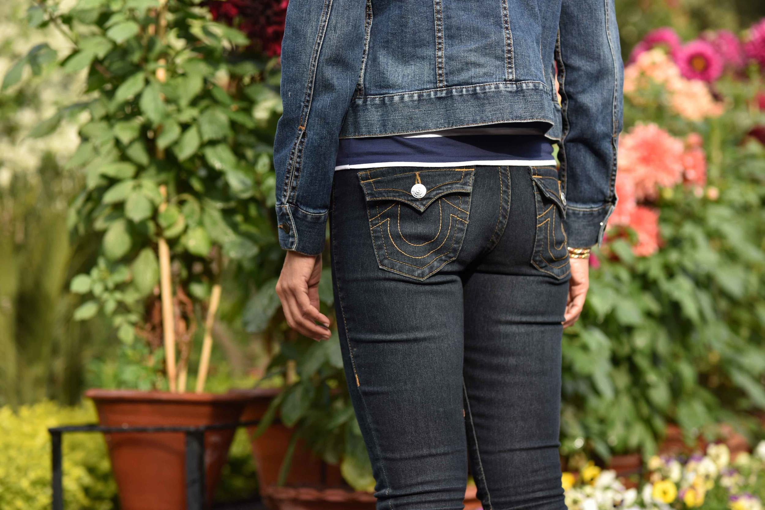 I never knew they made jeans so good! My True Religion jean leggings, can wear them eternally! Image©gunjanvirk
